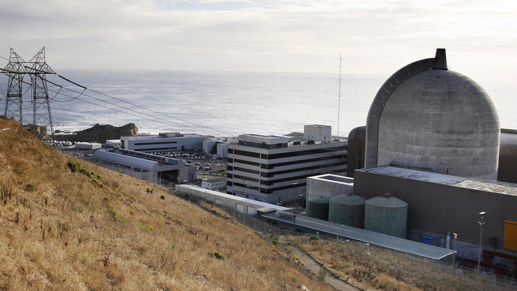 Pacific Gas & Electric's Diablo Canyon plant near Avila Beach has California's last operating nuclear reactors. (Michael Mariant / Associated Press)