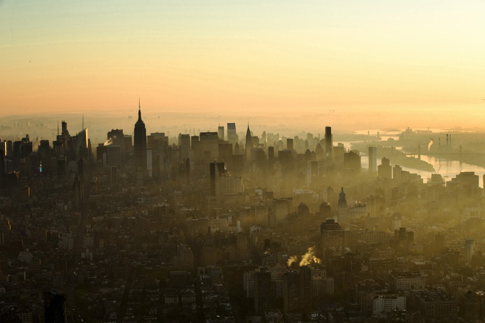 Manhatten skyline. Lucas Jackson / Reuters